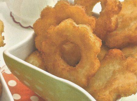 Fiori di semolino fritti