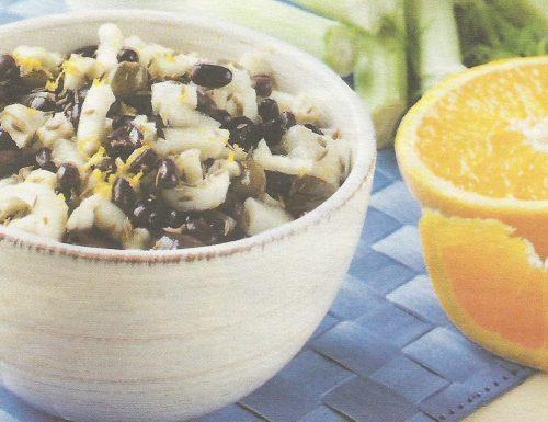 Insalata di azuki e finocchi all'arancia