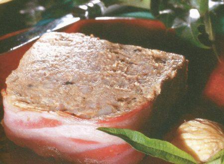 Patè di anatra alle castagne