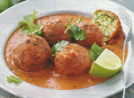 Kafta di zucchine al curry