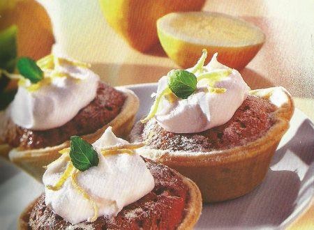 Muffins al limoncello con cioccolato bianco