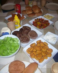 Hamburgher e hot-dog per tutti!
