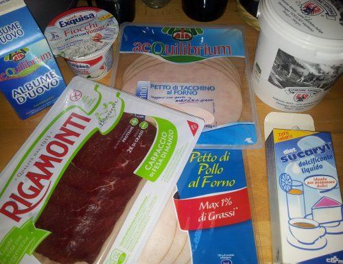Preparazione alla Dieta Dukan: La spesa per l'AA (Attacco)