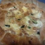 Torta salata zucchine, papate e pancetta di Michela