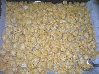 Polpette di petto di pollo e patatine fritte