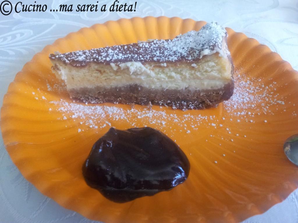 Cheese cake e cioccolato