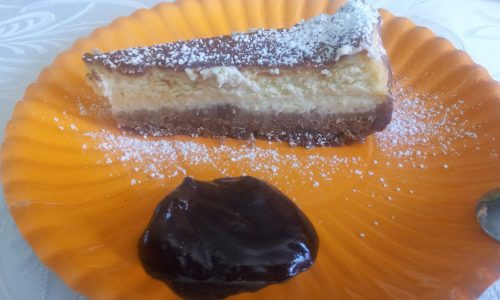 Cheesecake philadelphia e cioccolato