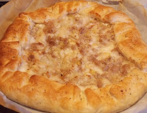Torta salata tonno e carciofi