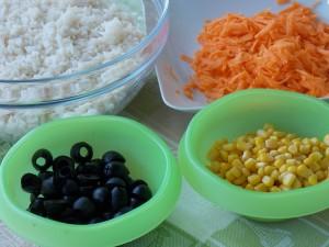 insalata di riso leggera