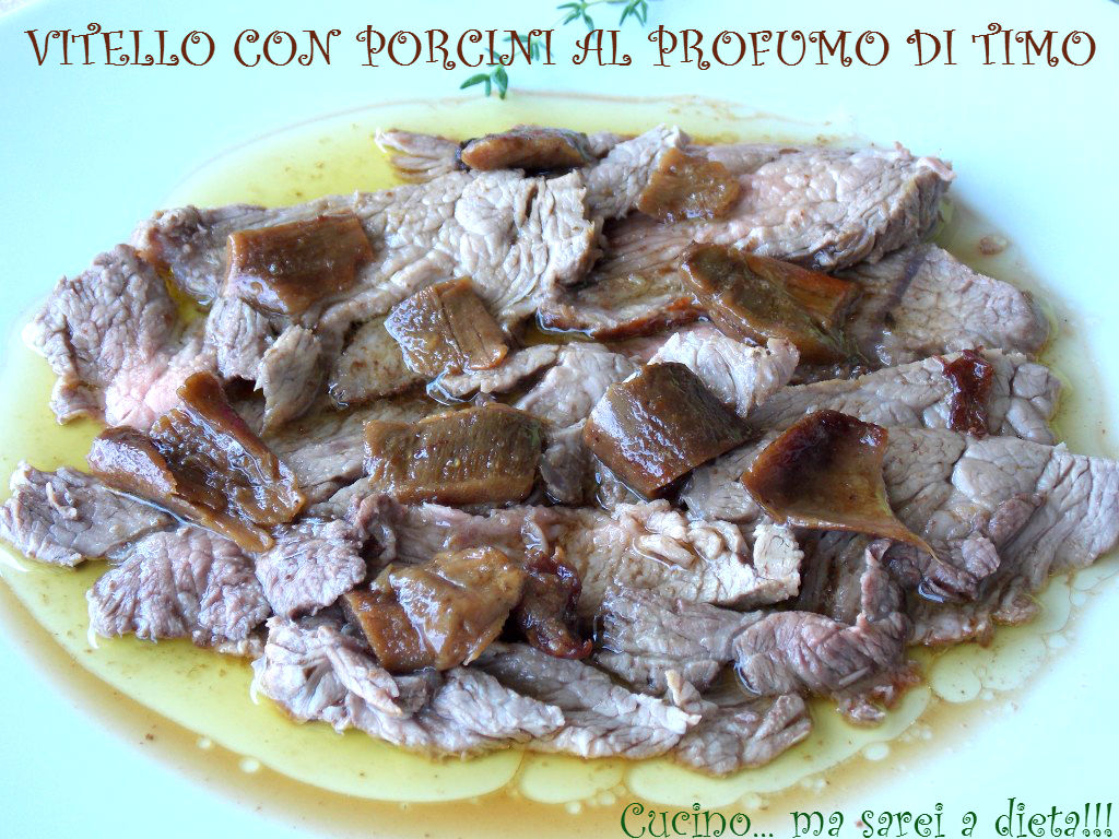 Vitello ai porcini