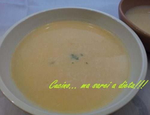 Crema di patate al profumo di alloro