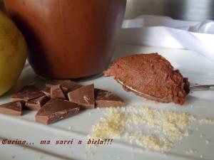 Marmellata cioccolato e pere