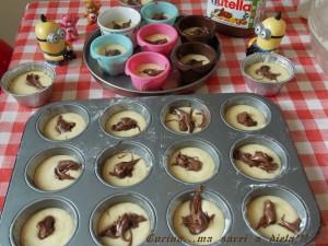 Muffin alla Nutella 1