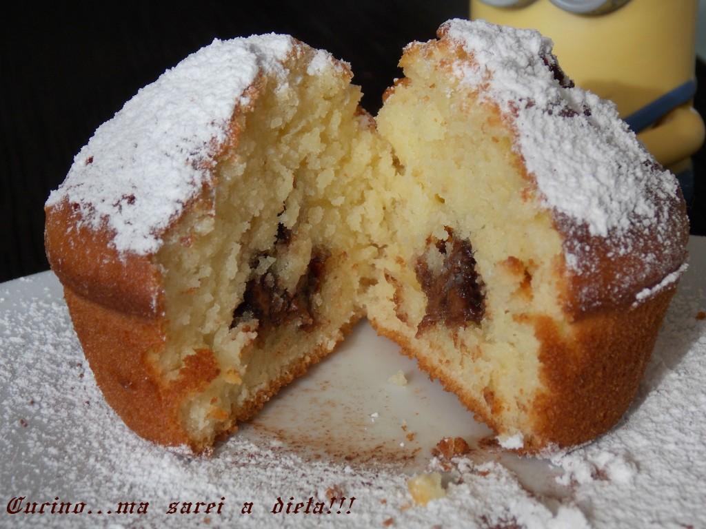 Muffin alla nutella 2
