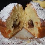 Muffin alla Nutella 3