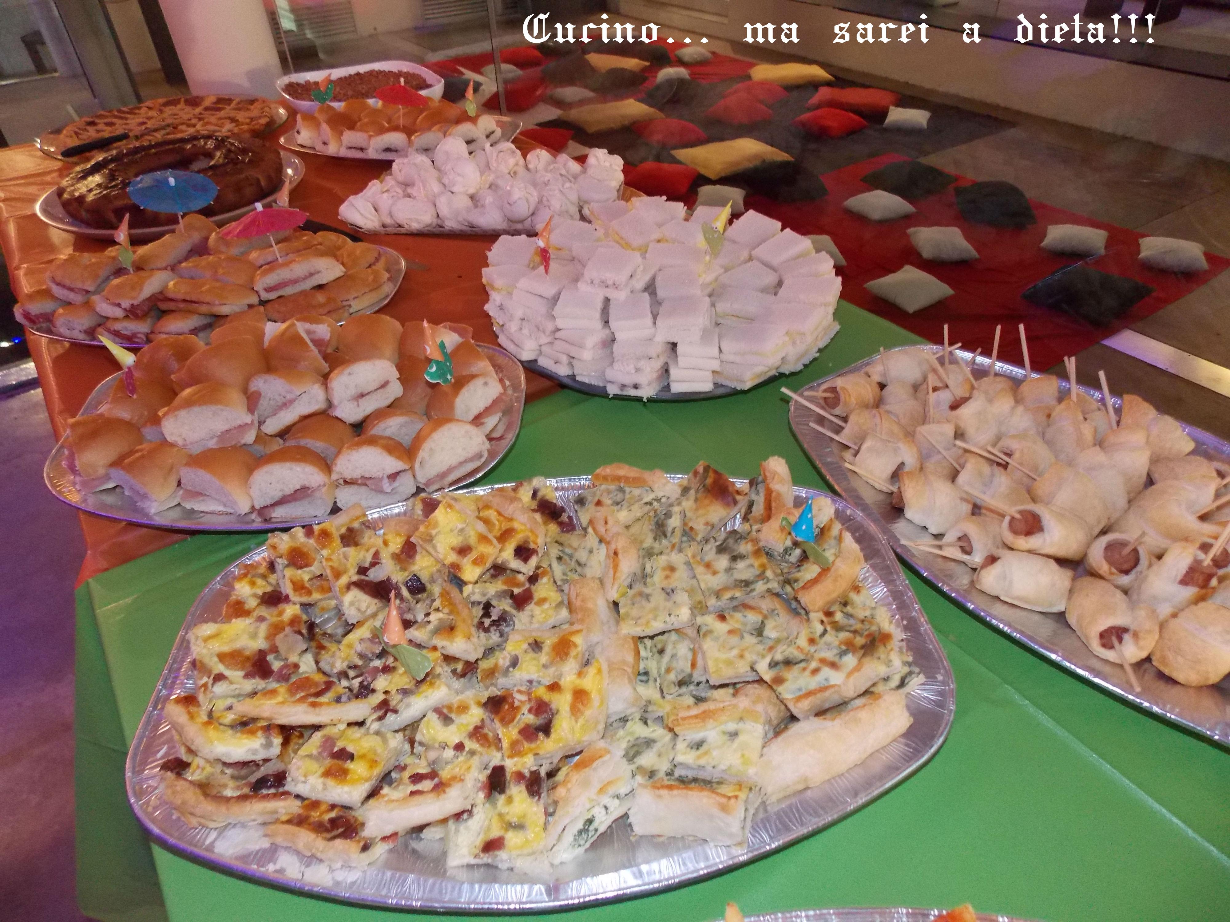 Buffet di compleanno 2013  Cucino... ma sarei a dieta!!!