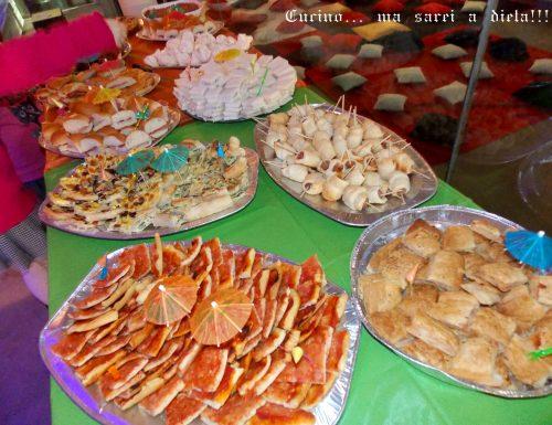 Buffet di compleanno 2013