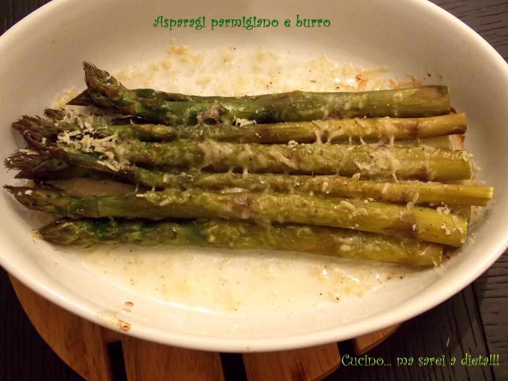 Asparagi Parmigiano e burro