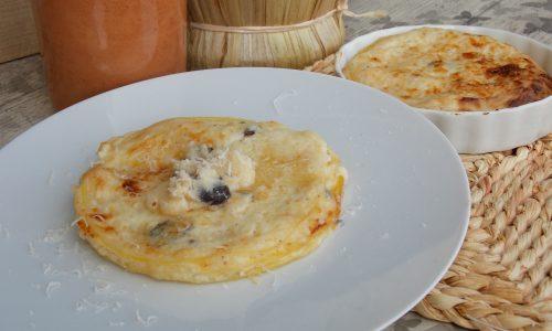 Lasagne con salsa bianca tartufata