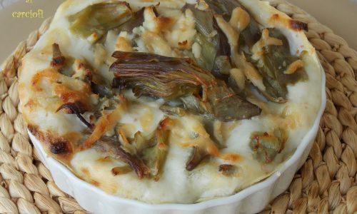 Lasagne carciofi e taleggio
