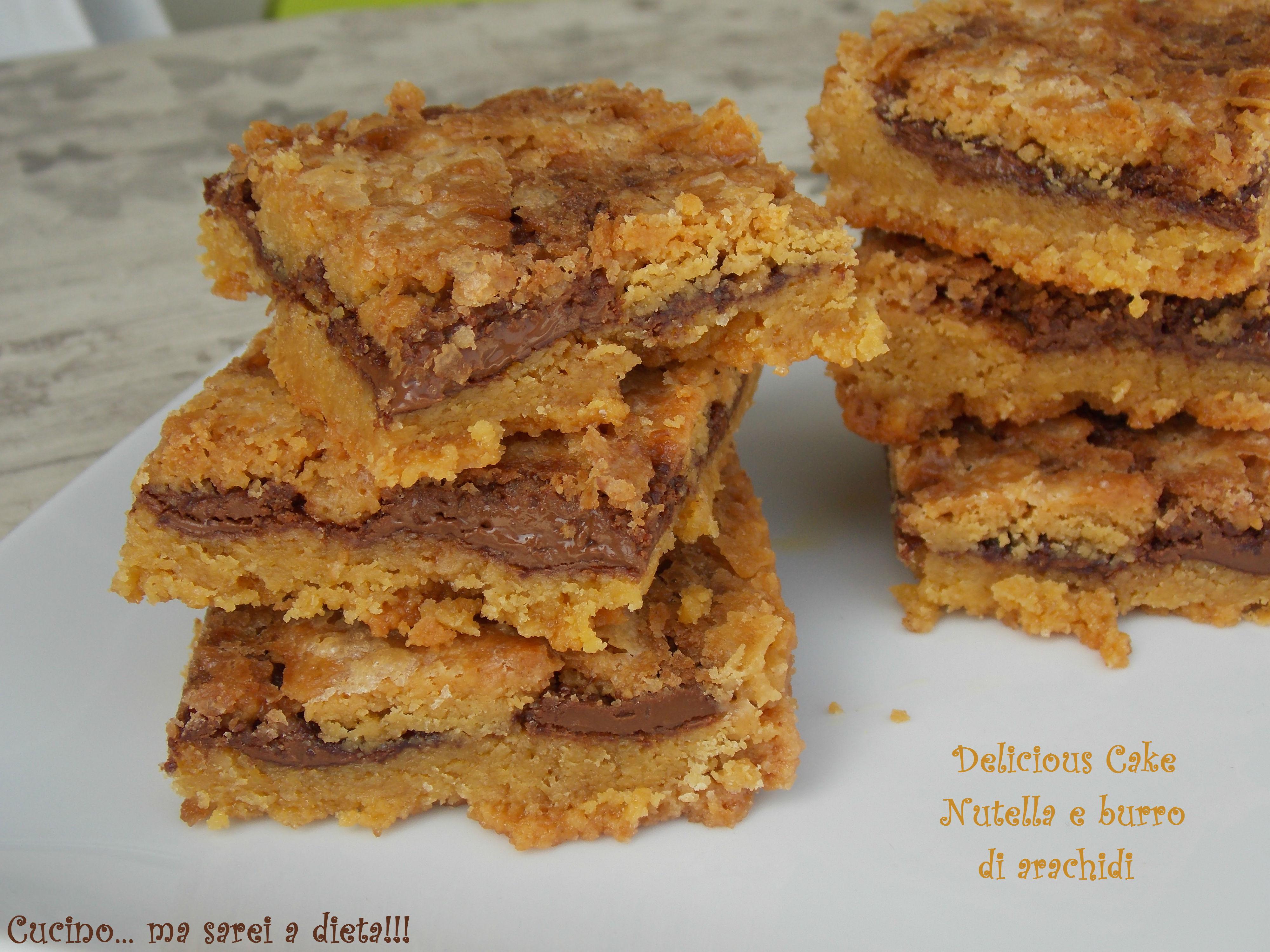 Célèbre Nutella e Burro di arachidi | Ricetta golosa | Cucino ma sarei  GA27