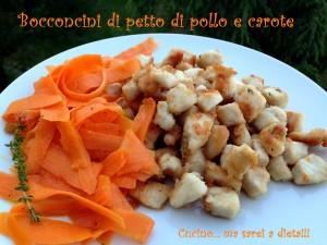 Petto di pollo con le carote