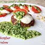 Hamburger tricolore
