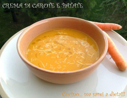 Crema di carote dell'asilo