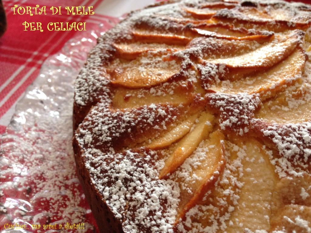 Torta di mele celiaci