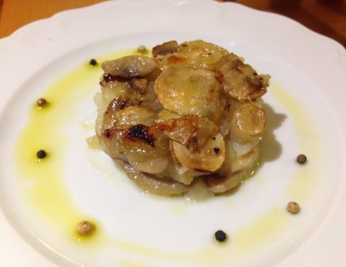 Delizia patate e champignon