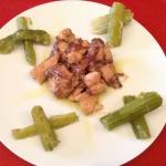Petto di pollo leggero con cipolle