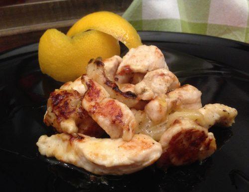Pollo al limone | Ricetta light dieta