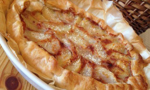 Torta salata radicchio rosso e patate