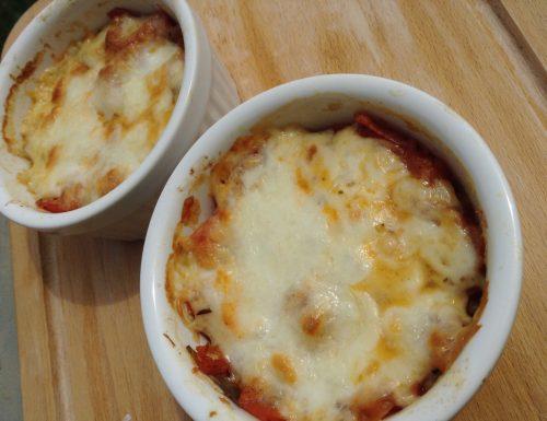 Tortini di mozzarella e carciofi