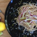 spaghetti al limone freddi