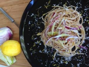 Orecchiette baccelli asparagi