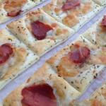 Pizzette di sfoglia bianca