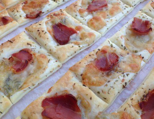 Pizzette di sfoglia bianche