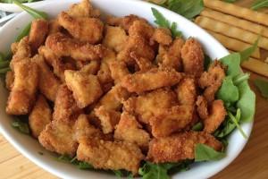 Petto di pollo fritto