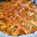 Crostata con la salsiccia
