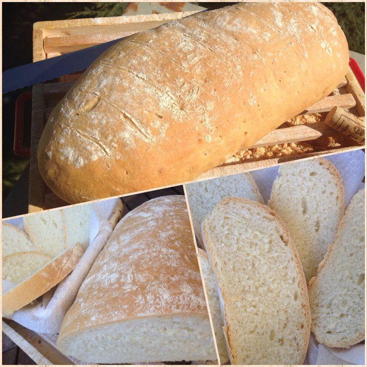 Pane bianco fatto in casa facile
