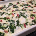 Lasagne spinaci, auricchio, provola e speck