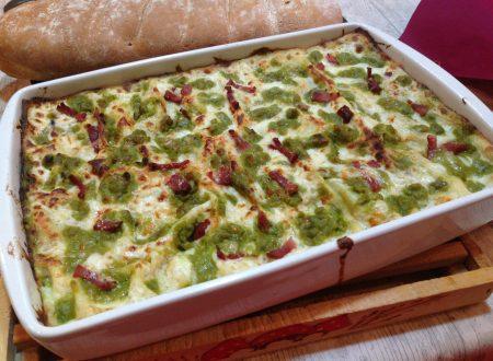 Lasagne piselli, asiago e speck | primo in forno