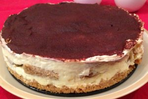 Cheesecake al Tiramisù | Dolce al cucchiaio
