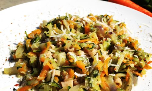 Pastina Integrale e verdure