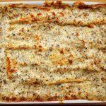 Lasagne con salsa tartufata nera