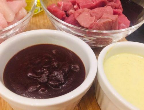 Salsa piccante per bourguignonne