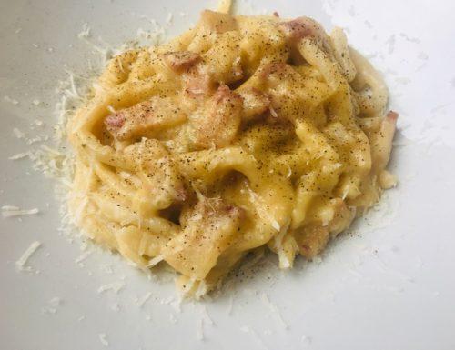 Pici con crema di zucca