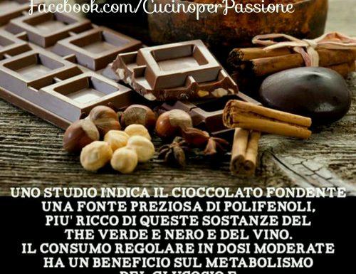 Cioccolato e i suoi benefici