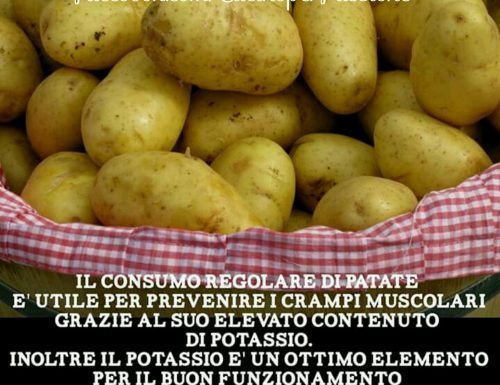 Patate e crampi muscolari